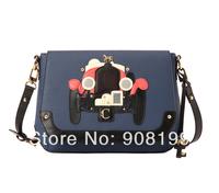 2014 Lapalette pink messenger bag vintage roadster shoudler  bag