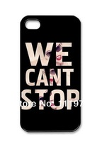 Creative Design Simple Joy Phone Case, Miley Cyrus Hard Plastic Back Cover Case for iphone 4, 4S