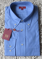 100% male cotton shirt formal male long-sleeve top long-sleeve shirt blue