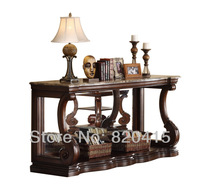 Free Delivery America Carved Wood TV Cabinet Furniture Living Room Sofa Table Aico - Victoria Palace - Console Table