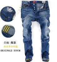 Casual Jeans New Newly Style Famous Brand Men's Jeans,Denim, Cotton Jeans Pants, Blue Straight Jeans