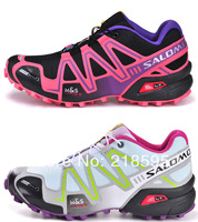 2014 New Salomon Running Shoes Women Athletic Shoes Women Sports Shoes TOP Quality size 36-40 Free Shipping