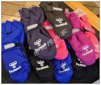 Reima lassie stick child ski gloves waterproof windproof lengthen belt zipper