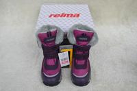 Child warm and waterproof reima lassie slip-resistant snow purple female child snow boots