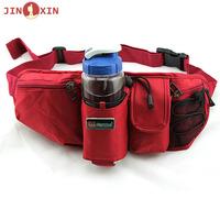 Multifunctional outdoor waist pack travel hiking water bottle waist pack ride running sports waist pack one shoulder small waist