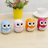 Owl plastic mechanical timing reminder candy color alarm clock timer