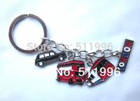 UK London keyring London souvenirs key chains UK key ring bus and taxi London transport key chains KR007