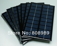 Grade A 3W 9V Epoxy Solar Panel Solar Cell Panel For DIY Solar Light Solar Charger Solar Kits125*195*3MM  2pcs/lot Free shipping