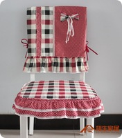 100% cotton Korean style  Scottish-style garden style chair cushion covers