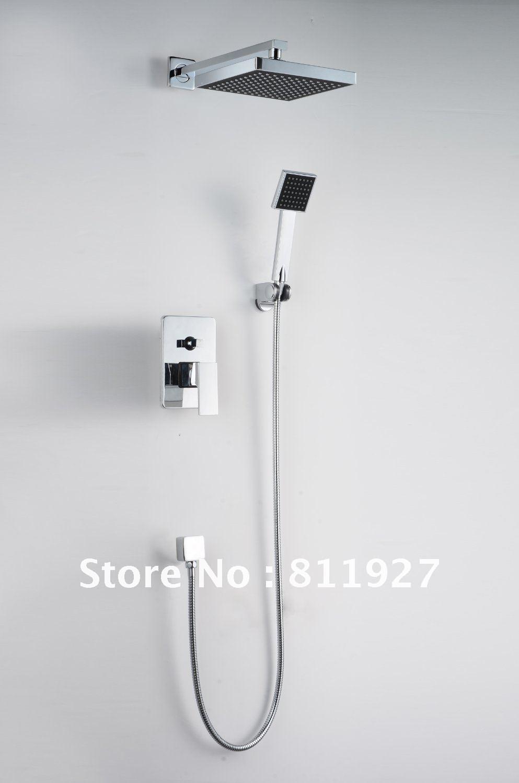High-quality-bathroom-rainfall-square-Bath-Shower-Faucets-mixer-tap ...
