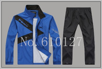 Free shipping 2014 men sport suit sportwear casual jacket and pants man sprots set men cool cardigan casual sets L-4XL plus size