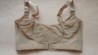2014 new women's wire free push up bra 1/4 cup bra 2Pcs bra and transparent shoulder straps