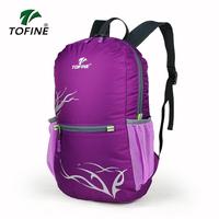 Outdoor mountaineering bag folding travel backpack ultra-light light hiking backpack bag waterproof