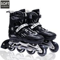 Adult roller skates roller skates inline skate shoes flash adjustable 43