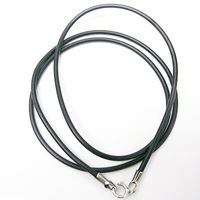 Wholesale 1.5MM Leather Necklace, Men's Necklace, Handmade Jewelry, Top Quality!!