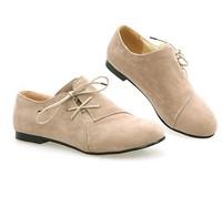 HOT women flats 2014 spring autumn lacing flat shoes women casual single shoes work shoes lady plus size 3 colors