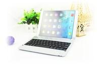 EMS free shipping 10pcs/lot  NICE P1305 Bluetooth Keyboard Wireless Ultrathin Aluminium Alloy Keyboard for iPad Air / iPad 5