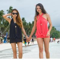 Free Shipping spring summer 2014 high waisted bathing suits Sexy - hot springs bikini swimwear sexy beach dress YY0342