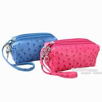Women's zipper bag purse key wallet women's clutch day clutch cosmetic mobile phone bag small bag