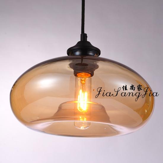 American vintage the art pendant light glass fish tank restaurant lamp modern brief bar lamps(China (Mainland))