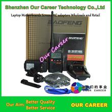 Populor Mini Ham two way radio Baofeng UV-3R Mark II dual band VHF &UHF walkie talkie free shipping with free earphone