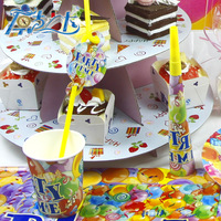 Children's birthday supplies lovely party time theme festival wedding supplies decoration