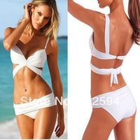 Free Shipping Beauty Women Lady Favor  Bathing Suits Top Strapless Bikini set Sexy Swimsuit Top and Bottoms Swimwear 1pcs/lot