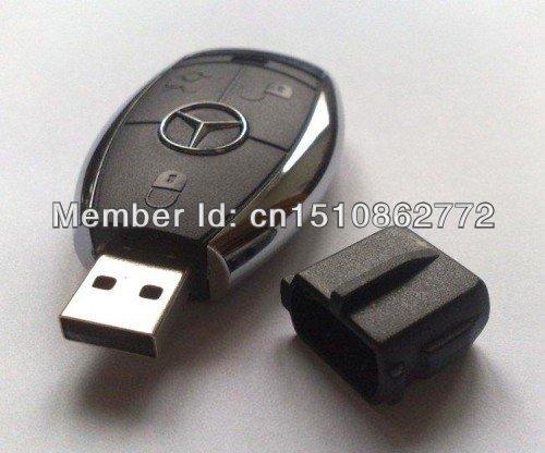 Free shipping Car key usb flash drives usb drive thumb drive plastic 8GB 16GB 32GB 64GB(China (Mainland))