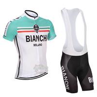 Cool! 2014 men's sportswear Cycling clothing jersey Bicycle short sleeve Cycling Wear +bibs shorts Ciclismo N403