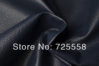 Big Lichee Embossed Navy Leather Fabric For Bag Making,Navy Upholstery Leather,Pleather,Soft Leather Sold by Yard