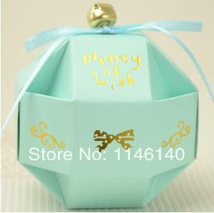 Free Shipping Wholesale 200pcs/Lot DIY Production Smooth And Slick Wedding Candy Box Blue Holiday Supplies Multicolor Choose(China (Mainland))