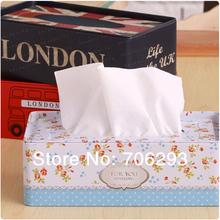 2014 NEW Metal vintage victoria tissue box car tissue box home daily use zakka tin 21X11.5X7CM 1PCS/SET(China (Mainland))
