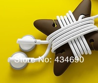 Free Shipping  in stock original Xiaomi Ninja Earphone Cable Winder /* #1781, #1782 */