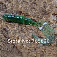 Trulinoya 3D lifelike soft fishing lures,worm fishing baits,95mm 6.8g,25pcs/lot(5packs),Free shipping