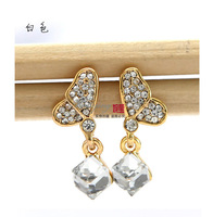 800303 # Butterfly Fantasy sparkling Crystal earrings earrings crystal earrings jewelry wholesale upscale outlet