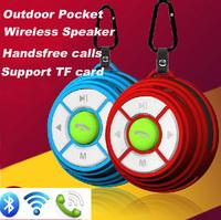 Outdoor Bluetooth Speaker k9 Sports Wireless Speaker Handfree Radio TF Card Mini Subwoofer Free Shipping