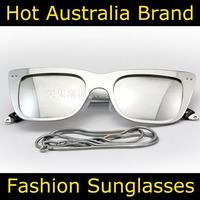 Hot Sale Free Shipping 2014 New Designer Brand Vintage Sunglasses Ksub Richard Nicoll Hanne Silver Original Package Retail