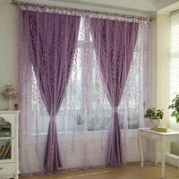 Print shalian at home curtains brief rustic curtain