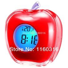 wholesale apple shaped clock