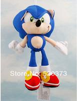 "Sonic The Hedgehog  toy  Plush Doll Key Chain  7""  sonic plush doll toy sonic hot sale free shipping  4pcs /lot"