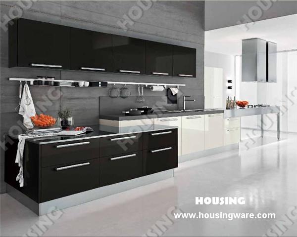 China Supplier High Gloss Lacquer Finish Modern Kitchen Cabinets(China (Mainland))