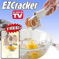 Free Shipping 1Piece EZ Cracker Egg Cracker with Separator! Separate Egg Whites!