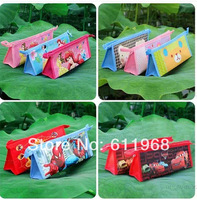 10 designs available Birds Car KT Cartoon Pencil Bag Pencil Purse  with zip cosmetic bag 23x8.8x5.4cm stationery