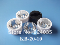 200set/lot 20mm 10 degree led lens with holder for Edison led