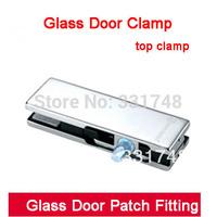 Free shipping Glass door clamp top clamp HC-3130D glass door hardware accessories door clip patch fitting