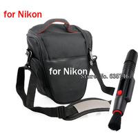 2in1 Lens Cleaning Pen Lens pen+Camera Case Bag for DSLR nikon D3200 D800 D7000 D5100 D5000 D3100 D3000 D90 D300