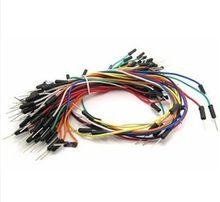 650pcs/Lot New Solderless Flexible Breadboard Jumper wires Cables Bread plate line(China (Mainland))