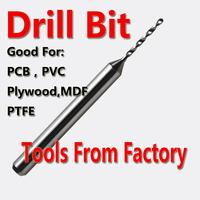 10pcs 0.3-1.2mm PCB Drill Bit Print Circuit Board Carbide Micro Drilling Bits CNC Dremel Free Shipping