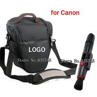 2in1 Lens Cleaning Pen Lens pen+Camera Case Bag for Canon 1100D 1000D 450D 500D 600D 550D 50D 60D 7D 5D II DSLR