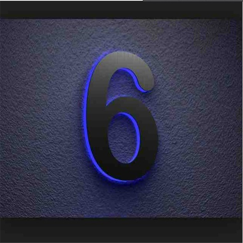 Image Result For Solar Lighted House Numbers